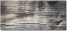 Tappeto Passatoia Plancia di frassino nero 40cm X