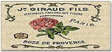 Tappeto Passatoia Rosa vintage 40cm X 100cm