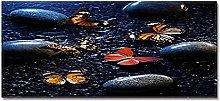 Tappeto Passatoia rugiada di farfalla 40cm X 120cm