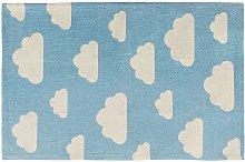 Tappeto per bambini 60 x 90 cm Azzurro GWALIJAR