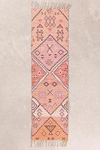 Tappeto per corridoio in juta e tessuto (170x40