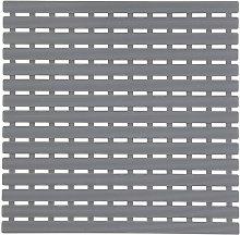 Tappeto per Doccia Antiscivolo 54 x 54 Grigio con