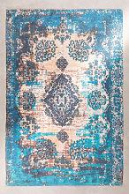 Tappeto per esterni (185x120 cm) Tetouan Blu Ciano