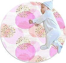 Tappeto Per Esterni Rotondo Ideale per bambina