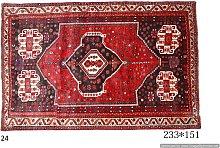 Tappeto Persiano Shiraz, 151x233