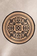 Tappeto rotondo in iuta naturale (Ø100 cm) Tricia