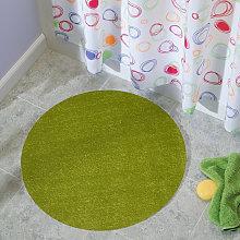 Tappeto rotondo moderno camera soggiorno bagno