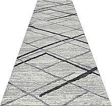 Tappeto runner moderno grigio chiaro - per