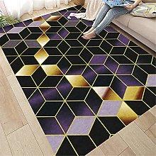 Tappeto Salone Moderno Tappeto Cucina Black Purple
