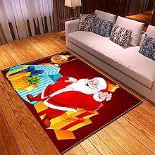 Tappeto Salotto Moderno 140X200cm Albero Natale