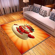 Tappeto Salotto Moderno 40X60cm Stella Rossa