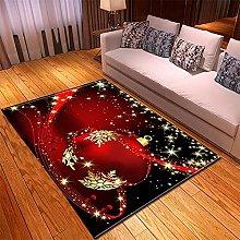 Tappeto Salotto Moderno 50X80cm Palloncino Rosso