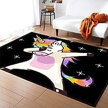 Tappeto Salotto Moderno Colore Unicorno Modello