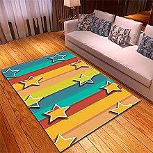 Tappeto Salotto Moderno Stelle di colore Modello