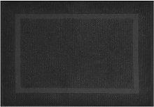 Tappeto scendi doccia 100% cotone colore Nero