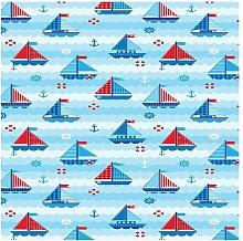 Tappeto Stampato Child Sailors - per Bambini -