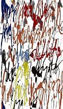 Tappeto Stampato Crayon 2 - Astratto - Arredo -