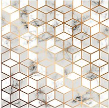 Tappeto Stampato Geometry Festival - Geometrico -