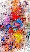 Tappeto Stampato Paintbrush 1 - Astratto - Arredo