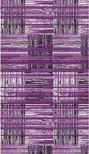 Tappeto Stampato Purple 1 - Geometrico - Arredo -