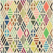 Tappeto Stampato Quadrilateral Paints - Geometrico