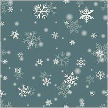 Tappeto Stampato Snowflakes - Geometrico - Arredo