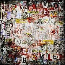 Tappeto Stampato Wall Scribble - Astratto - Arredo