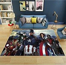 Tappeto Tappeto Avengers Completo Rettangolare