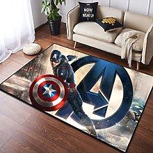 Tappeto Tappeto Captain America Avengers Marvel