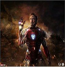 Tappeto Tappeto Marvel Avengers Iron Man Anime