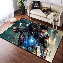 Tappeto Tappeto Marvel Avengers Iron Man Boy