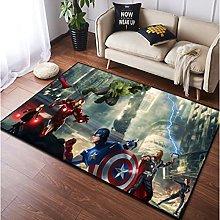 Tappeto Tappeto Marvel Avengers Membri Anime