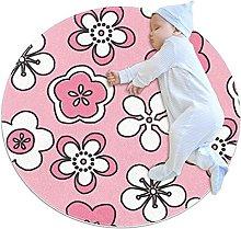 Tappeto Tappetto Fiori rosa fiori Pink Tappeto per