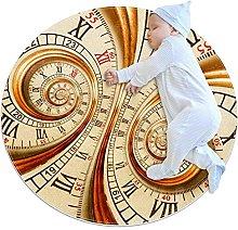 Tappeto Tappetto Orologio vecchio orologio Tappeto