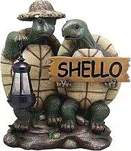 Tartaruga Ornamento da Giardino Statua Tartaruga