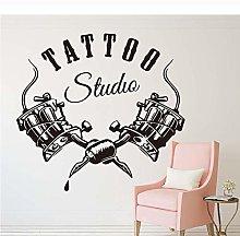 Tattoo Shop Studio Adesivo Murale Tattoo