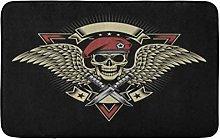 Tatuaggio Militare Cranio Ali E Pugnali Patch