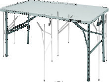 Tavoli Camping 122X61Xh74Cm