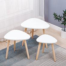 Tavolini Coordinati retrò, Set di 3 Tavolini