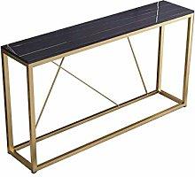 Tavolini Per Consolle Per Corridoio Slim, Bianco E