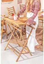 Tavolino con vassoio in bambù Tonga Bambù Sklum