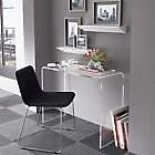 Tavolino Consolle in Plexiglass Trasparente