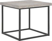 Tavolino da Caff¨¨ 55x55x53 cm Aspetto Cemento