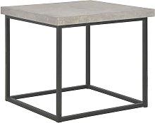 Tavolino da Caffè 55x55x53 cm Aspetto Cemento