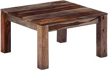 Tavolino da Caffè in Legno Massello di Sheesham