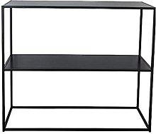 Tavolino in ferro battuto Bookshelf Double Layer
