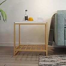 Tavolino in marmo, tavolo snack mobile, tavolo