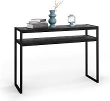 Tavolino ingresso - Consolle Luxury, Nero Cemento