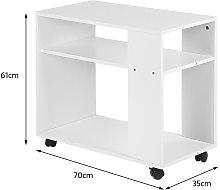 Tavolino / libreria / mobile contenitore   con