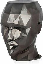Tavolino testa di donna sfaccettata cm H55xL50xS39